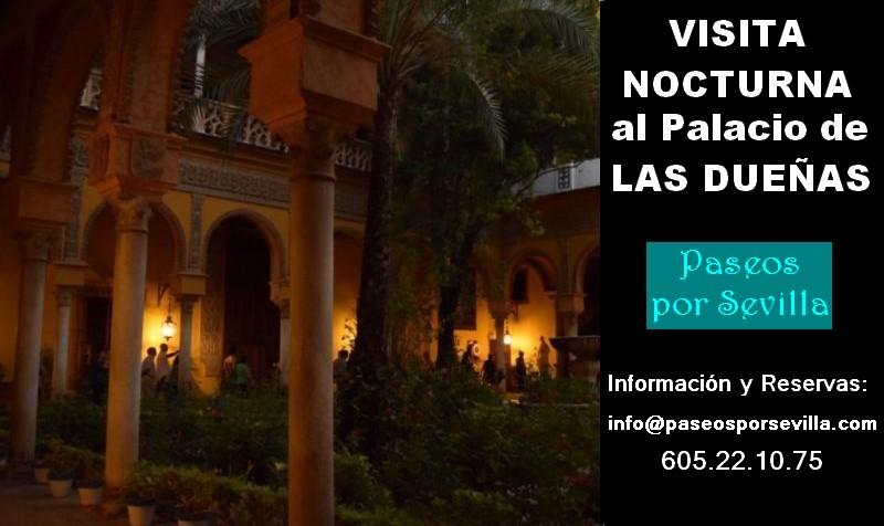VISITA NOCTURNA AL PALACIO DE LAS DUEÑAS